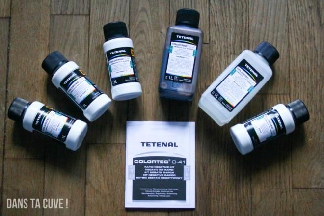 Le kit Tetenal C-41