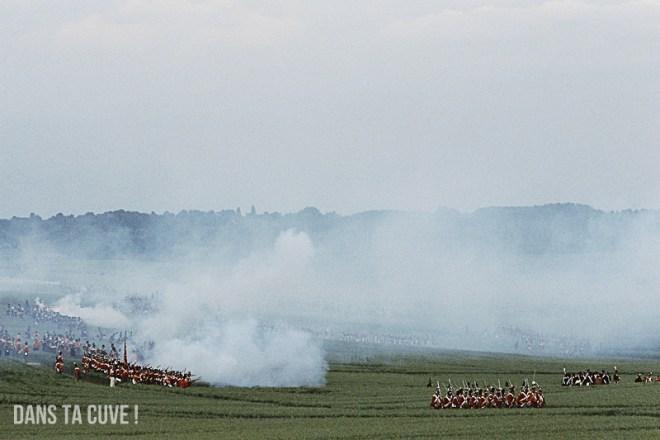 Waterloo, bicentenaire, fin de journée (21h), Canon A1 135mm F/2.5