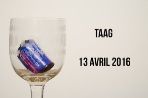 Taag - Avril 2016