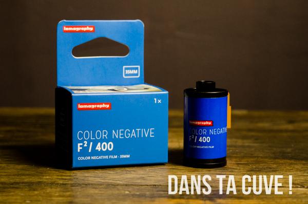 Color Negative F²/400 de chez Lomography