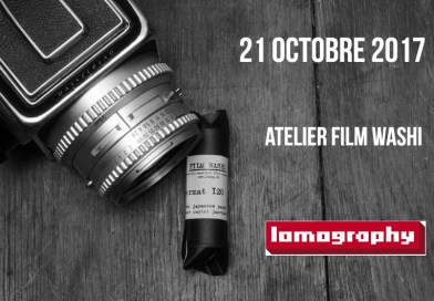 Atelier Washi avec Lomography le 21 octobre 2017
