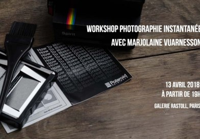 Workshop Photographie Instantanée le 13 avril 2018