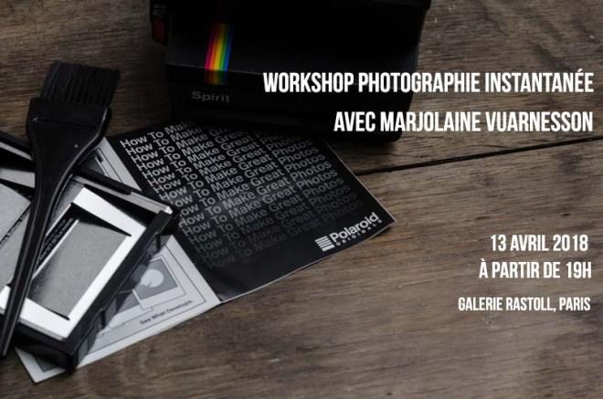 Workshop Photographie Instantanée