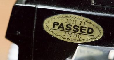 La pastille d'or «Passed»