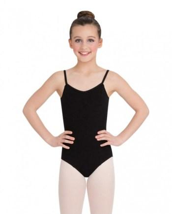 Capezio CC101C Princess Camisole balletpakje BLK voor