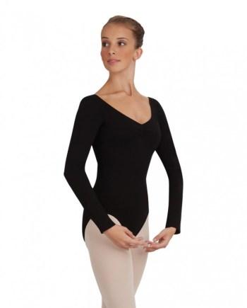Capezio CC460 Long sleeve leotard balletpakje met lange mouw
