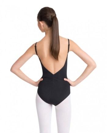 Capezio MC100 Adjustable camisole leotard w/pinch front balletpakje achter