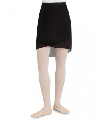 Capezio N276 georgette Long wrap skirt