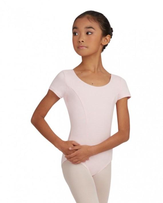 Capezio CC420C princess seam Short sleeve balletpakje