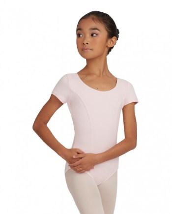 Capezio CC420C princess seam Short sleeve balletpakje