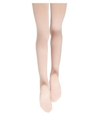 Balletpanty met voet capezio balletmaillot