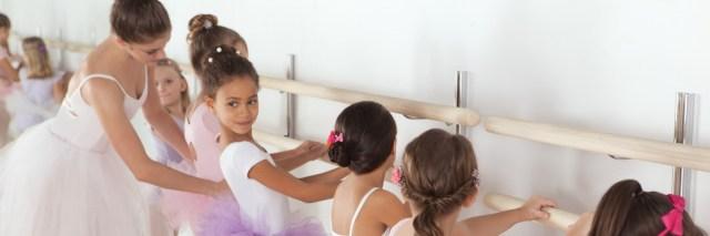 Kinderdans capezio podiumvrees