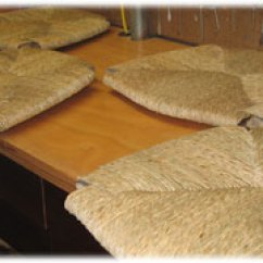 Rush Seat Chairs Holiday Kitchen Chair Covers Dan Alleger Custom Woodworking New Orleans La Furniture Weaving