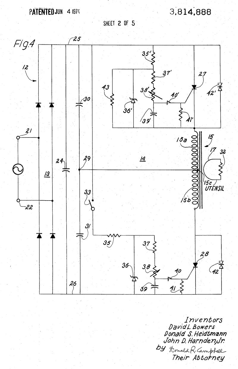 hight resolution of twin scr induction heater