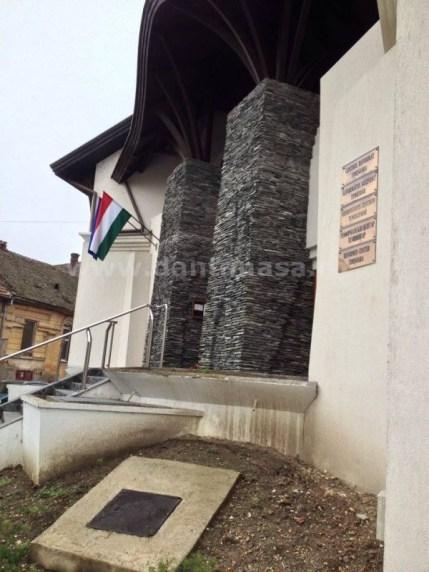 centrul reformat timisoara drapelul ungariei decembrie 2015