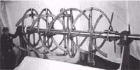 54 Dia. Horizontal Double FLight Impeller