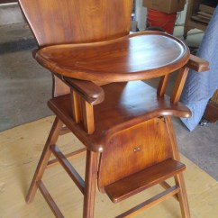Antique High Chairs Nook Tables And Chair Refinishing On Garford St In Long Beach Ca