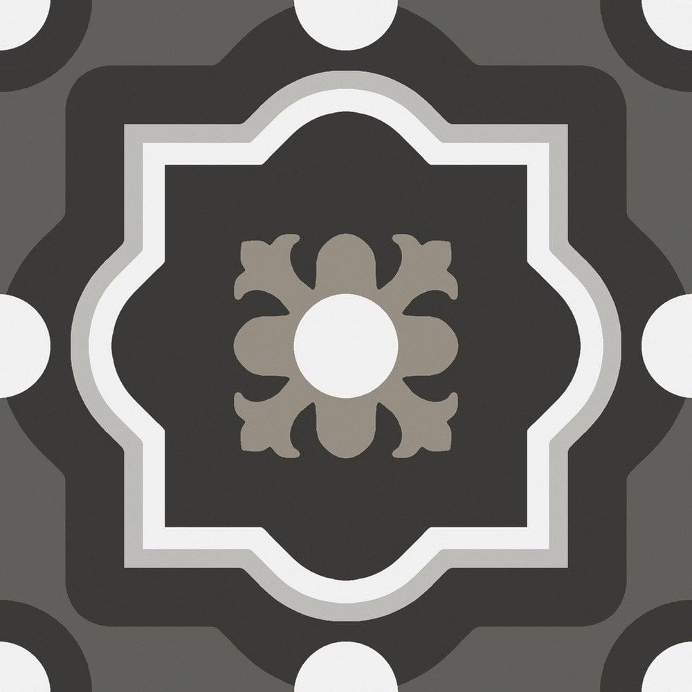 patchwork b w 04 20cm x 20cm wall floor tile