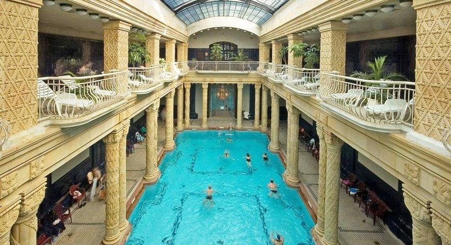 Danubius Hotel Gellert Budapest next to Gellert Spa