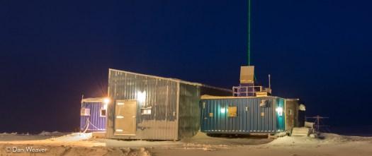 PEARL 0PAL lab (with LIDAR operating)