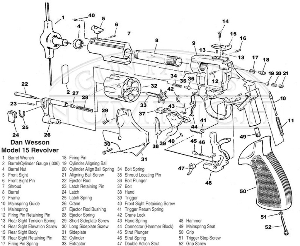 Model 15 Cylinder Lock Revolvers The Dan Wesson Forum