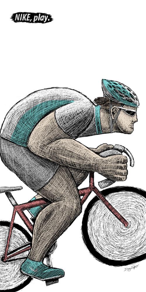 nike cycling