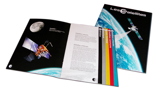 brochure satellite