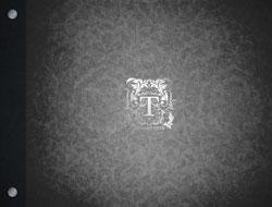 black pattern foil