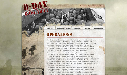 D-Day website