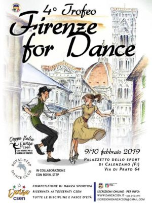 4° Trofeo Firenze For Dance