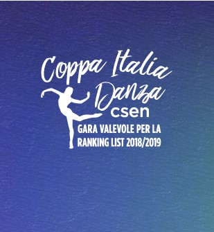 Logo Coppa Italia Danza CSEN