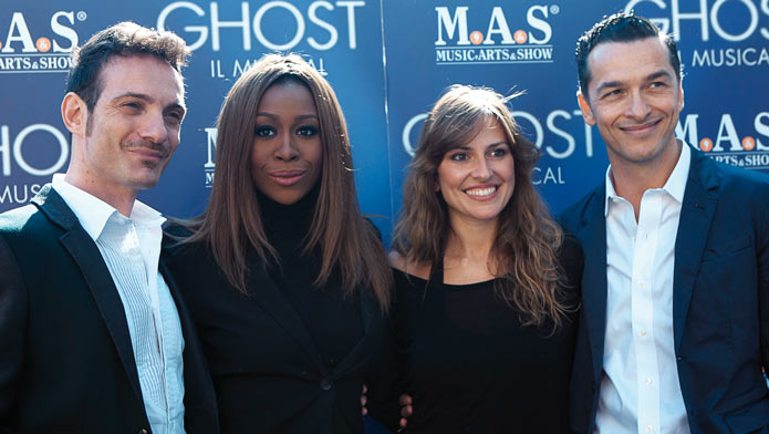 cast ghost il musical