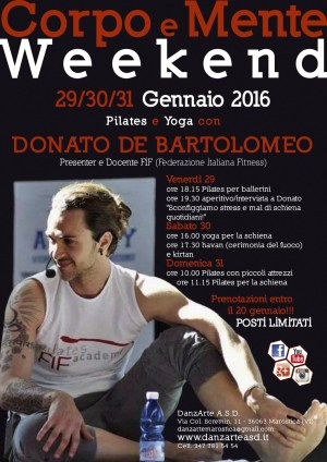 Yoga e Pilates Weekend