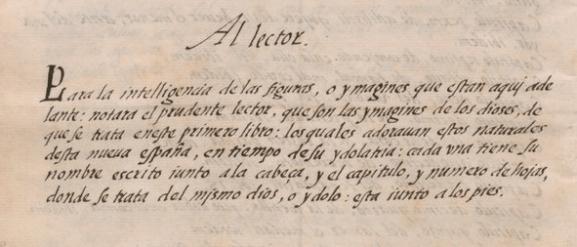 dedicatoria del codice florentino