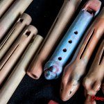 Flautas con ranura de Leonardo da Vinci y del México Antiguo