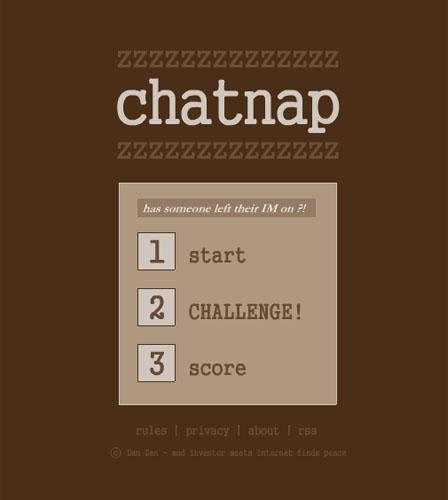 ChatNap - Chat Game by Dan Zen