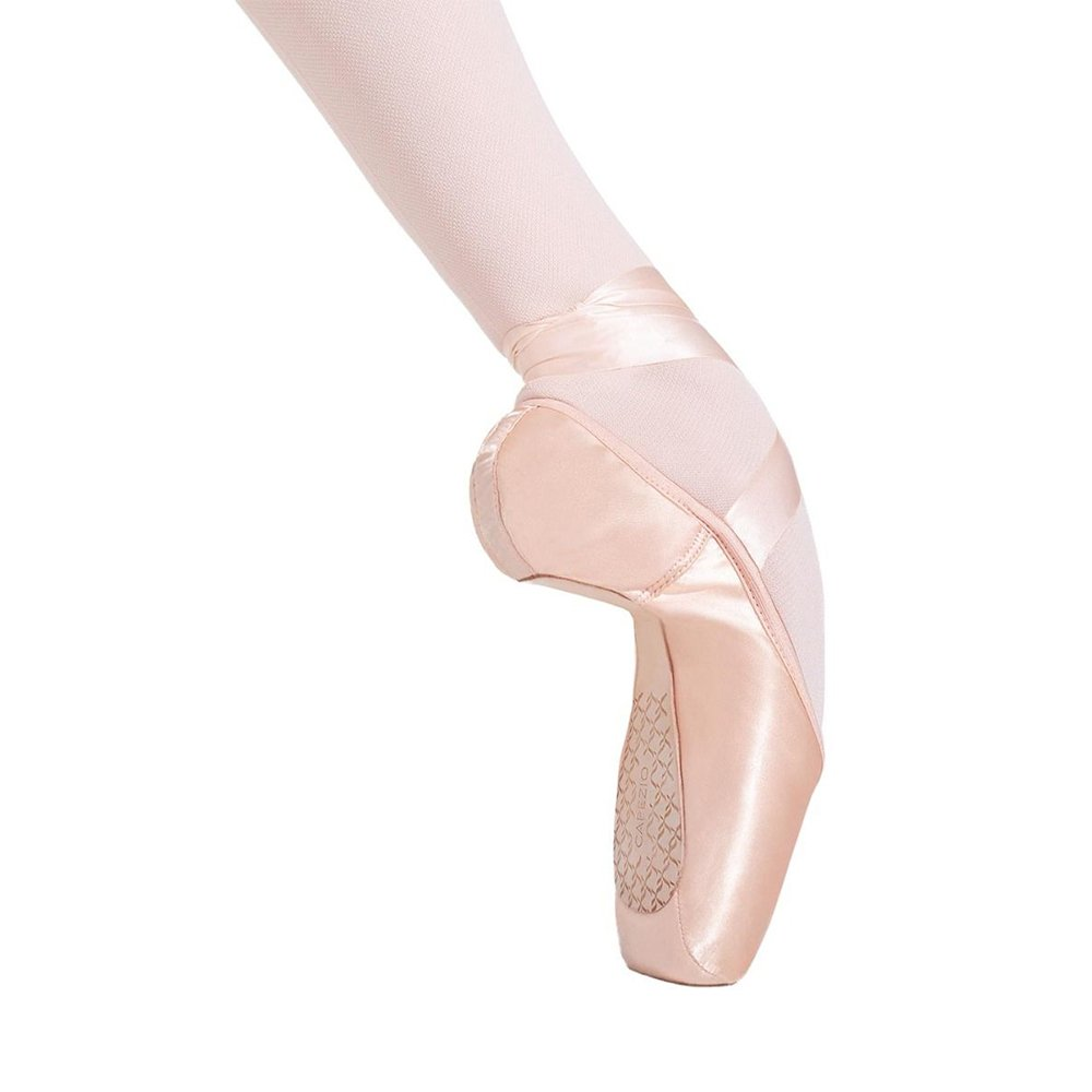 Capezio Cambre Pointe Shoe with 3 Shank and Broad Toe