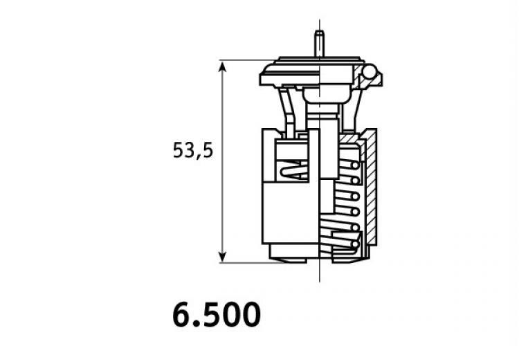 KIT TERMOSTATO VW GOLF 3 4 III IV 1.4 1.6 1400 1600