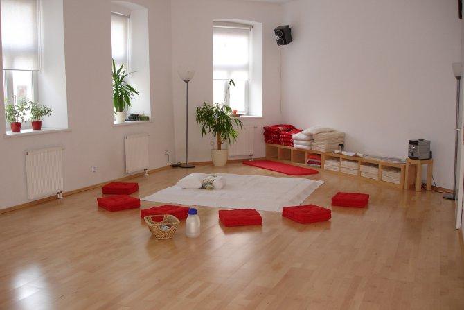 Meditationsraum im DAO-Zentrum