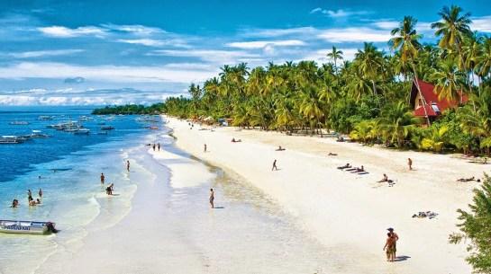 ALONA BEACH BOHOL ISLAND PHILIPPINES
