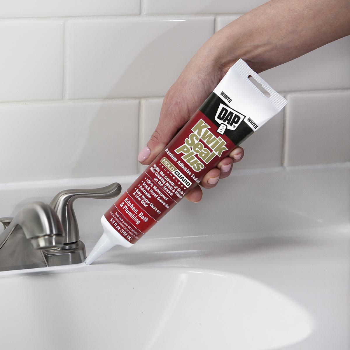 kwik seal plus kitchen bath adhesive sealant