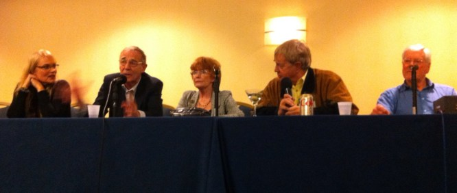 Gallifrey One 2013 - Companion Panel - With Michael Jayston, Deborah Watling, Frazer Hines and Peter Purves