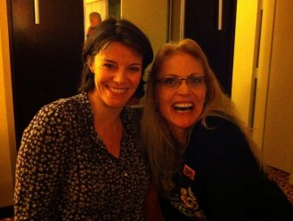 Gallifrey One 2013 - With Lisa Bowerman