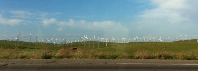 Wind farm panorama!