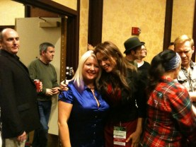 Gallifrey One 2013 - Sam Stone and Chase Masterson