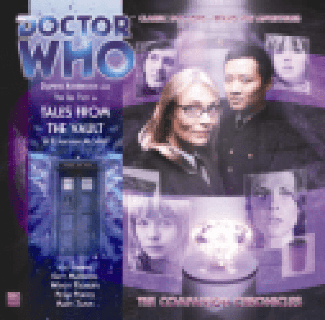 """Tales From the Vault"" with Big Finish - cover"