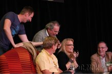 Gallifrey One 2013 - With Charlie Ross, Sylvester McCoy, Mark Strickson and Michael Jayston - Sylver Spoons
