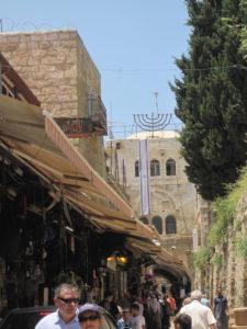 Bild der Läden in Jerusalem