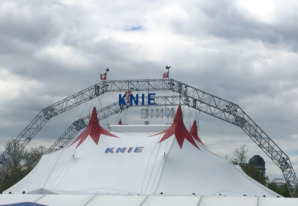Bild von meinem Besuch im Zirkus Knie