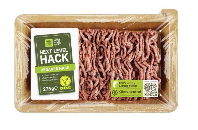 Bild des veganen Hacks von Next Level